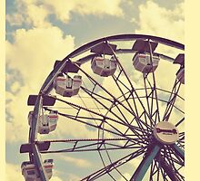 Vintage Ferris Wheel by MelodyPond3