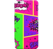 Bright and Colorful Comic Book Art iPhone Case/Skin