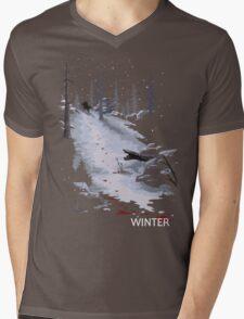 The Last of Us - Winter Mens V-Neck T-Shirt