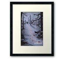 The Last of Us - Winter Framed Print