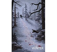 The Last of Us - Winter Photographic Print