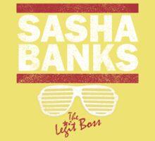 Sasha Banks Run DMC Mashup Vintage Kids Tee