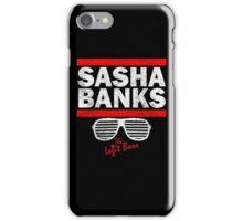 Sasha Banks Run DMC Mashup Vintage iPhone Case/Skin