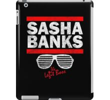 Sasha Banks Run DMC Mashup Vintage iPad Case/Skin