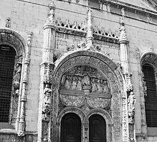 Portal da Igreja de Nossa Senhora da Conceição. Lisboa by terezadelpilar~ art & architecture