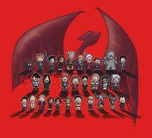 Dragon age trilogy Kids Tee