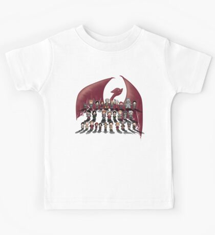 Dragon age trilogy Kids Tee