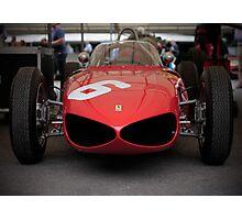 Vintage Ferrari Photographic Print