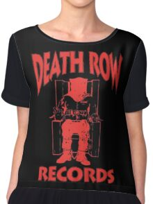 Deathrow Records Chiffon Top