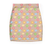 Pixel Hearts Mini Skirt