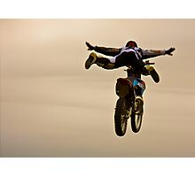 flying bike Photographic Print