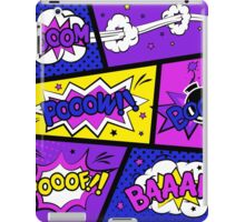 Girly Comic Book Panels iPad Case/Skin