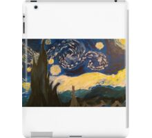 Starry Night Hand Painted iPad Case/Skin