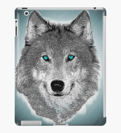 Wise Wolf Justin Beck Picture 2015089 iPad Case/Skin