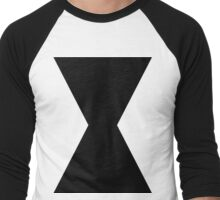 Monochromatic Heroes #3 Men's Baseball ¾ T-Shirt