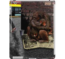 Homeless-Chimps-Justin-Beck-Picture-2015083 iPad Case/Skin