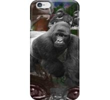 Endangered Gorillas Justin Beck Picture 2015094 iPhone Case/Skin