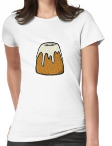 Sweet Roll Womens Fitted T-Shirt
