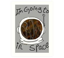 Drown in Space Art Print