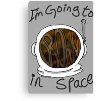 Drown in Space Canvas Print