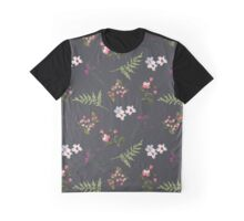 Vintage Flowers Graphic T-Shirt