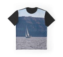 santorini island coast Graphic T-Shirt