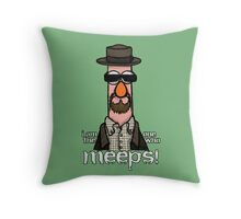 I am the one who meeps! Throw Pillow
