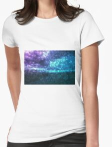 Love the rain Womens Fitted T-Shirt