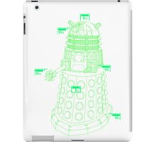 Exterminate the Robot - Light iPad Case/Skin