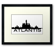 Atlantis Skyline Framed Print