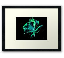 Universe Rose Framed Print