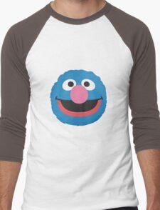grover face Men's Baseball ¾ T-Shirt