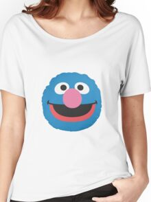 grover face Women's Relaxed Fit T-Shirt
