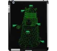 Exterminate the Robot - Dark iPad Case/Skin