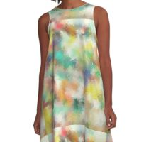 Smooth summer paint A-Line Dress