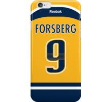 Nashville Predators Filip Forsberg Jersey Back Phone Case iPhone Case/Skin