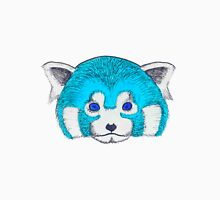 Blue Red Panda Unisex T-Shirt