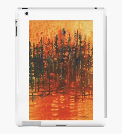 Forest Glow #3 iPad Case/Skin
