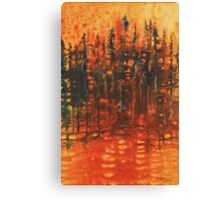 Forest Glow #3 Canvas Print