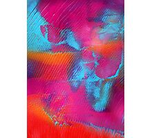 PB and J - Abstract Print Photographic Print