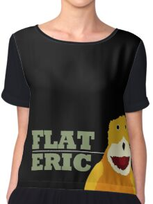 Flat Eric  Women's Chiffon Top