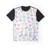 Homestuck Zodiac Print Graphic T-Shirt