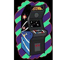 Retro Asteroids Arcade Photographic Print