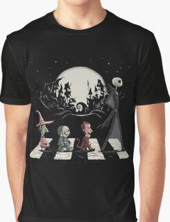 Halloween Road Graphic T-Shirt