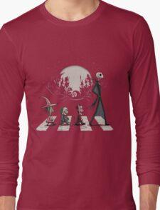 Halloween Road Long Sleeve T-Shirt