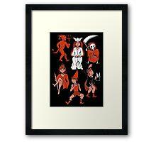 Tarot Party Framed Print