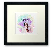 RV YERI Framed Print