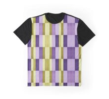 plaid pattern Graphic T-Shirt