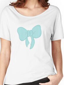 Bow Pattern Women's Relaxed Fit T-Shirt