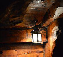 Lanern Below Deck by Judy Woodman